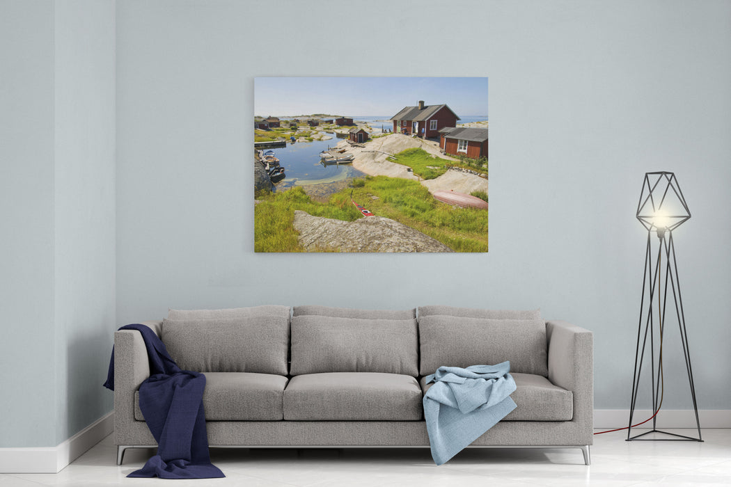 Archipelago Of Stockholm Canvas Wall Art Print