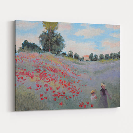 Summer Landscape Oil Painting Canvas Wall Art Print