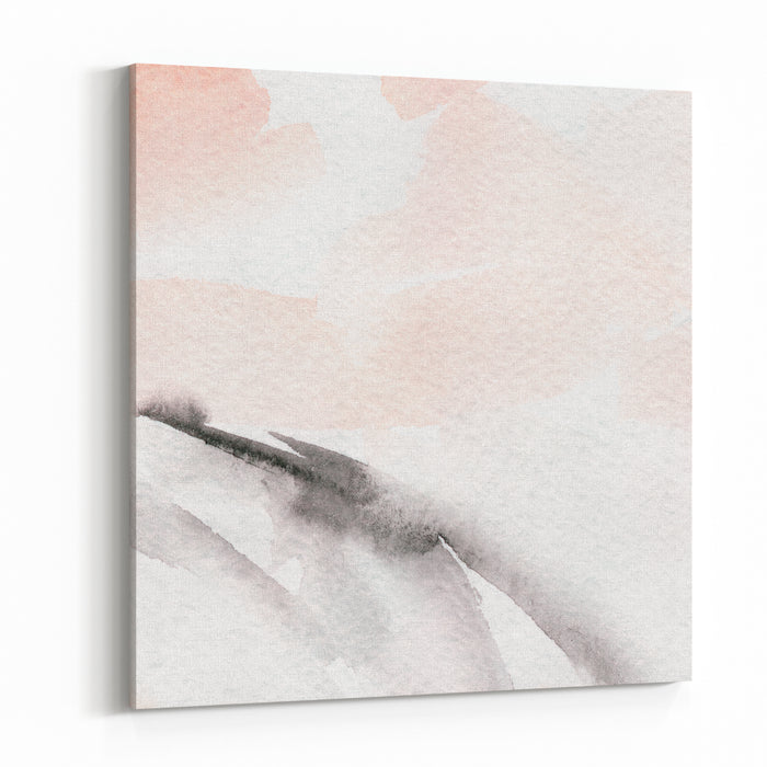 Hand Painted Watercolor Background Abstract Painting Watercolor Wash Canvas Wall Art Print