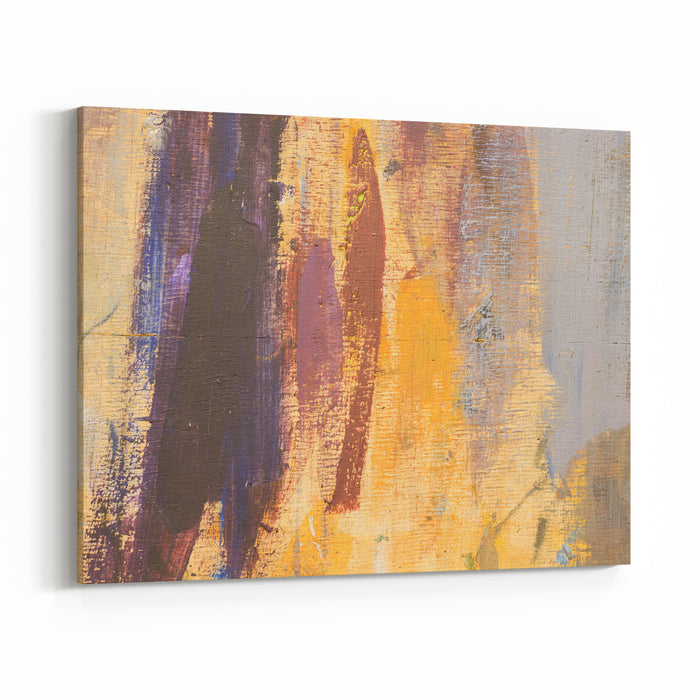 The Wooden Board, Which Depicts An Abstract Pattern Of Colors Abstract Painting Is Perfect For Back Backgrounds, And Designed Promotional Items Canvas Wall Art Print