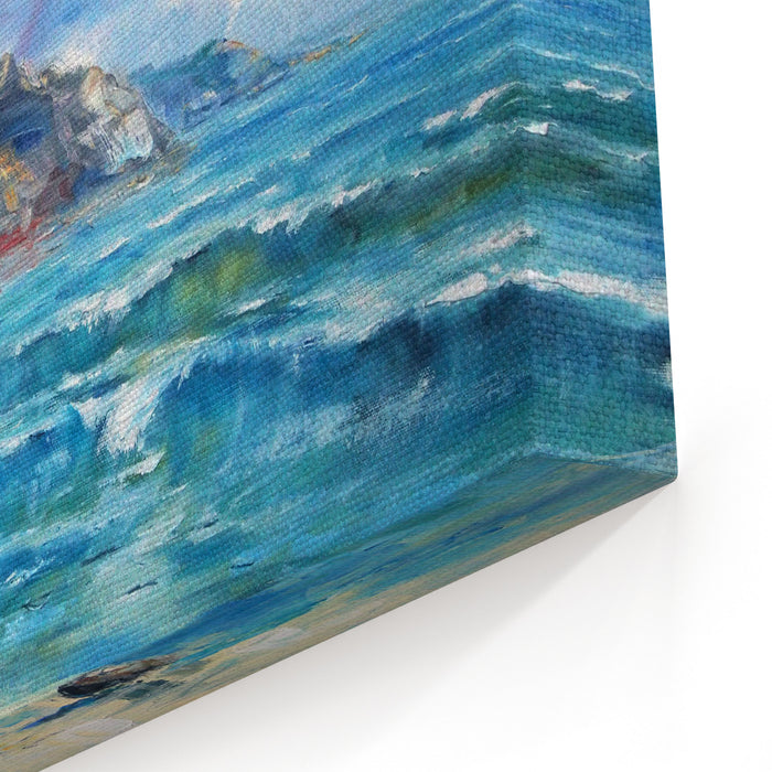 Art OilPainting Picture Sea Canvas Wall Art Print