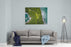 Top View Of Exotic Hill In Brazil Canvas Wall Art Print