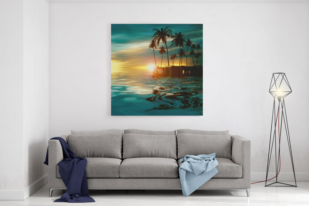 Beautiful Colorful Natural Landscape Canvas Wall Art Print