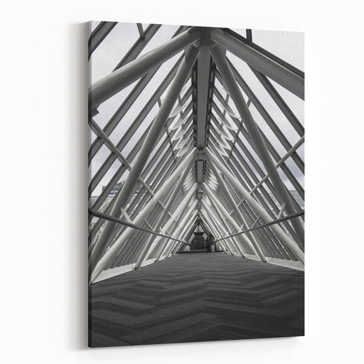 Symmetry Canvas Wall Art Print