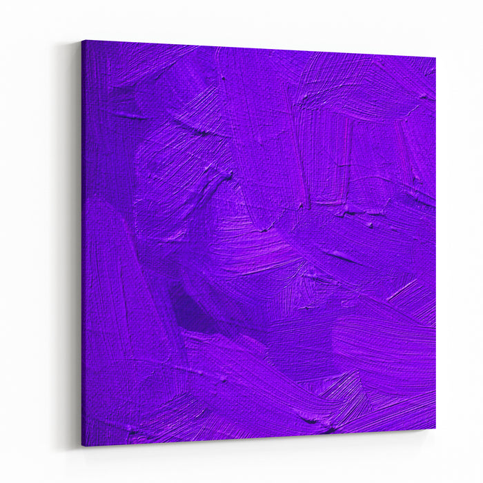 Purple Lilac Background With Large Strokes Of Paint,pattern,wallpaper, Painting Canvas Wall Art Print
