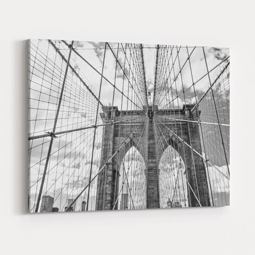 Brooklyn Bridge, New York, USA Canvas Wall Art Print