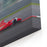 Formula  Race Car Racing At High Speed With Motion Blur On The Background Of The City In The Day Canvas Wall Art Print