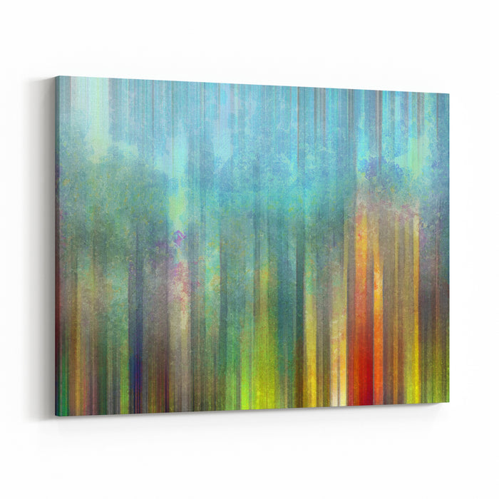 Abstract Painting Background Digital Structure Of Painting Canvas Wall Art Print