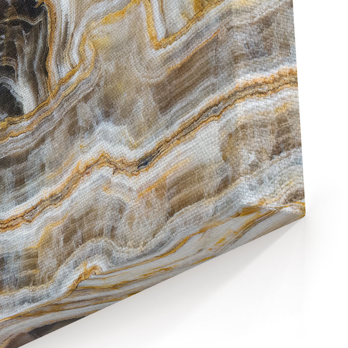 Background, Unique Texture Of Natural Stone  Marble, Onyx Canvas Wall Art Print