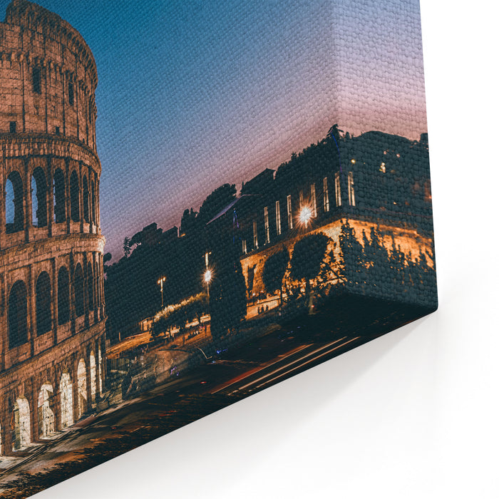 Colosseum Canvas Wall Art Print