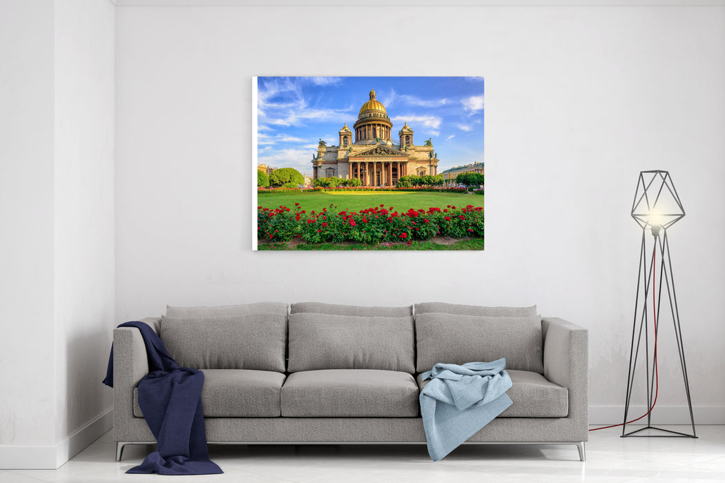 St Isaac Cathedral In Saint Petersburg, Russia, Is The Biggest Christian  Orthodox Church In