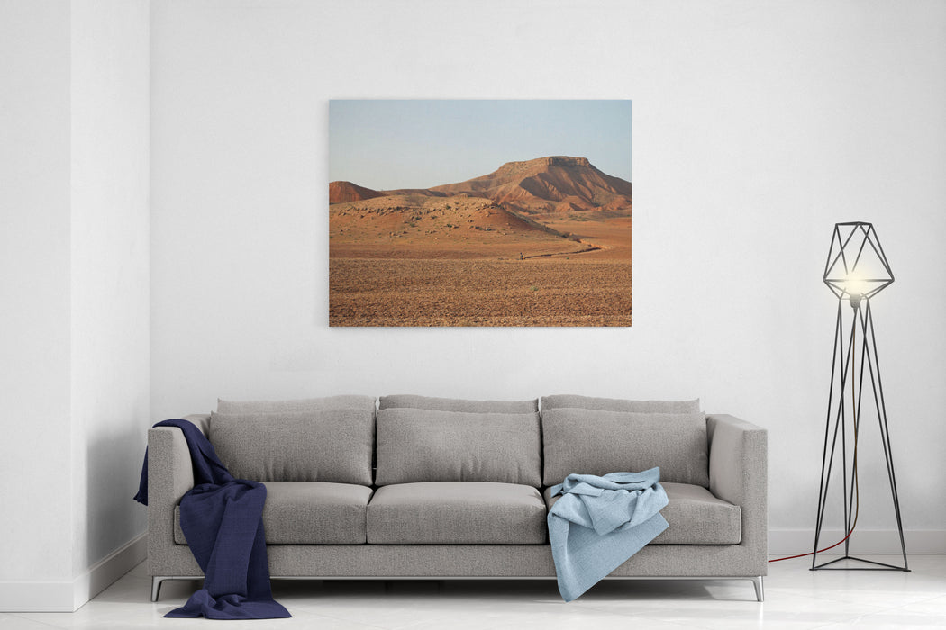 Samangan Solitude, Afghanistan Canvas Wall Art Print