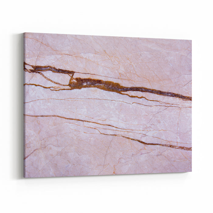 Abstract Background Pink Marble Texture Canvas Wall Art Print