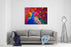 Original Oil Painting On Canvas Beautiful Multicolored Peacock Modern Art Canvas Wall Art Print