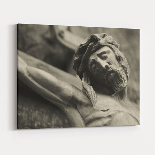 The Crucifixion Of Jesus Christ As A Symbol Of Gods Love Canvas Wall Art Print