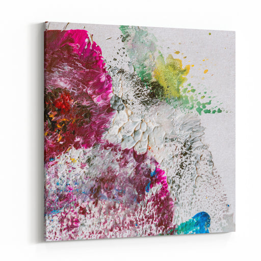 Abstract Painting Background Canvas Wall Art Print