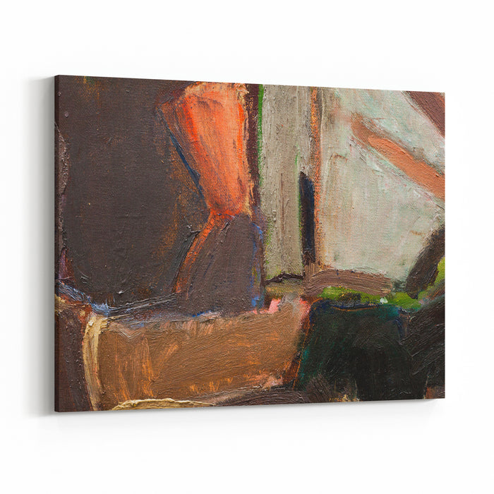 Abstract Art Background Oil Painting On Canvas Handpainted Contemporary Art Fragment Of Artwork Canvas Wall Art Print