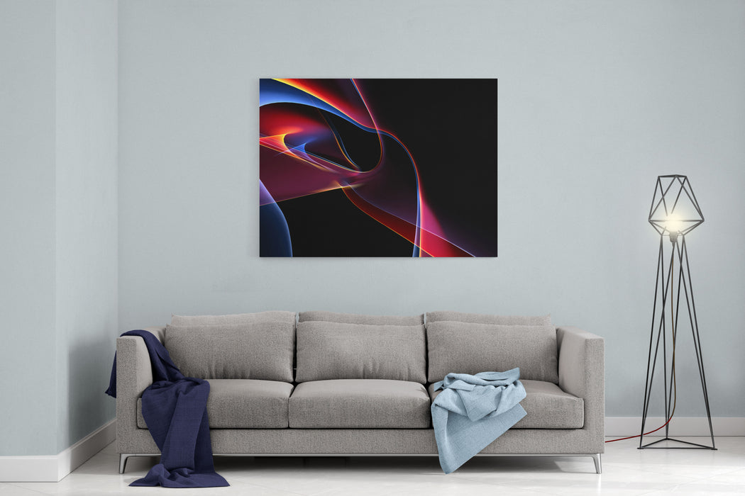 D Rendered Backgrounds Canvas Wall Art Print