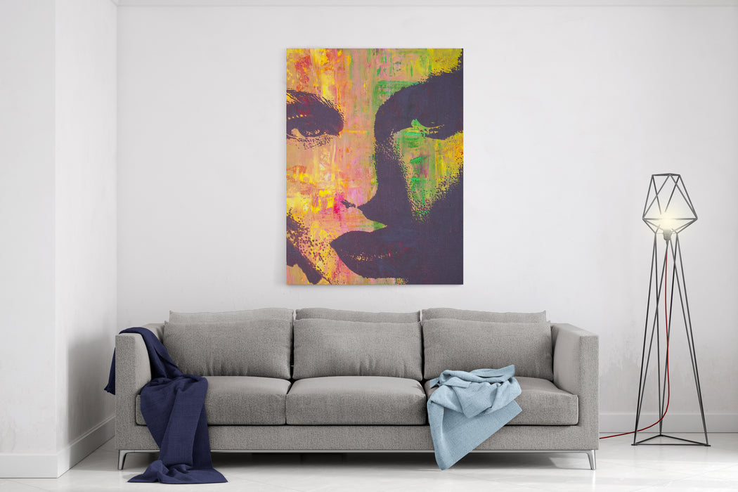 Original Artwork Oil Painting On Stretched Canvas Canvas Wall Art Print