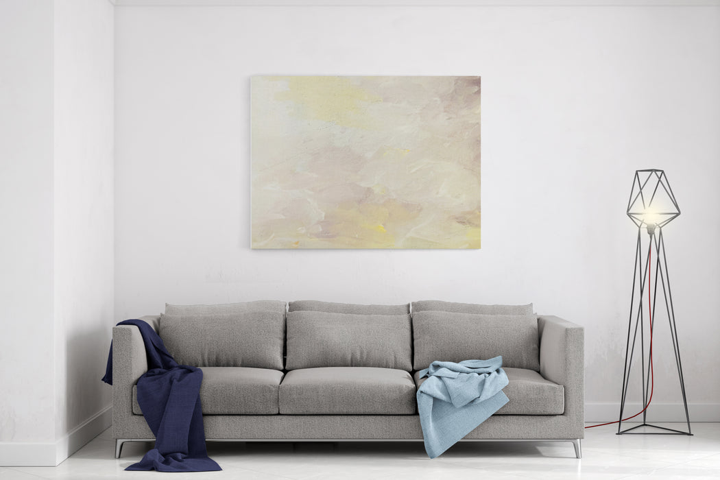 Abstract Painting Art Background Canvas Wall Art Print