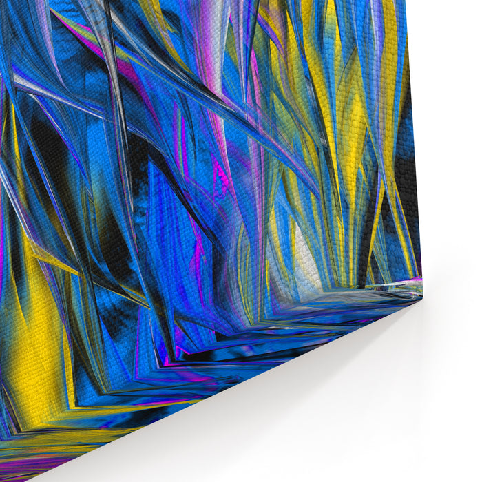 Abstract Digital Painting Abstract Background Painting Canvas Wall Art Print
