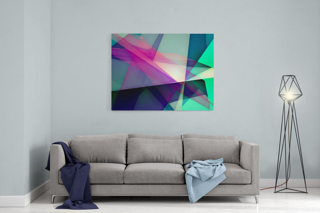Abstract Dynamic Composition Canvas Wall Art Print