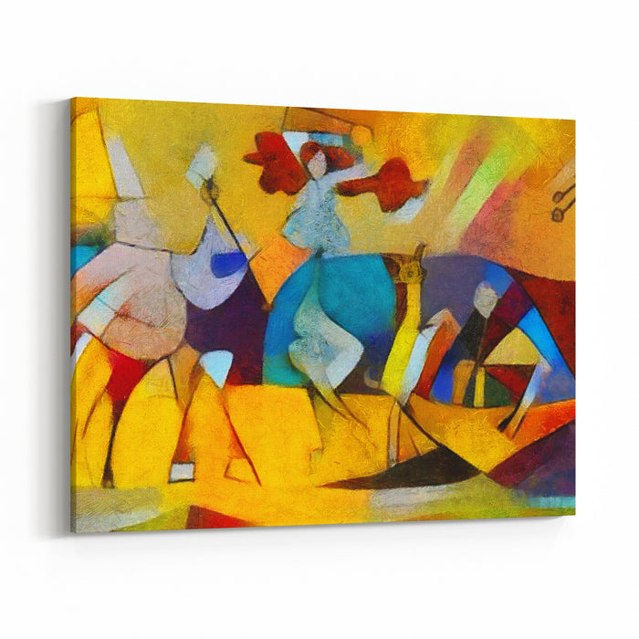 Famous Artists Abstract Art Replicas Canvas