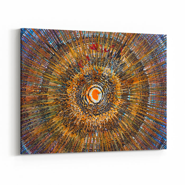Oil Painting  Abstraction Canvas Wall Art Print