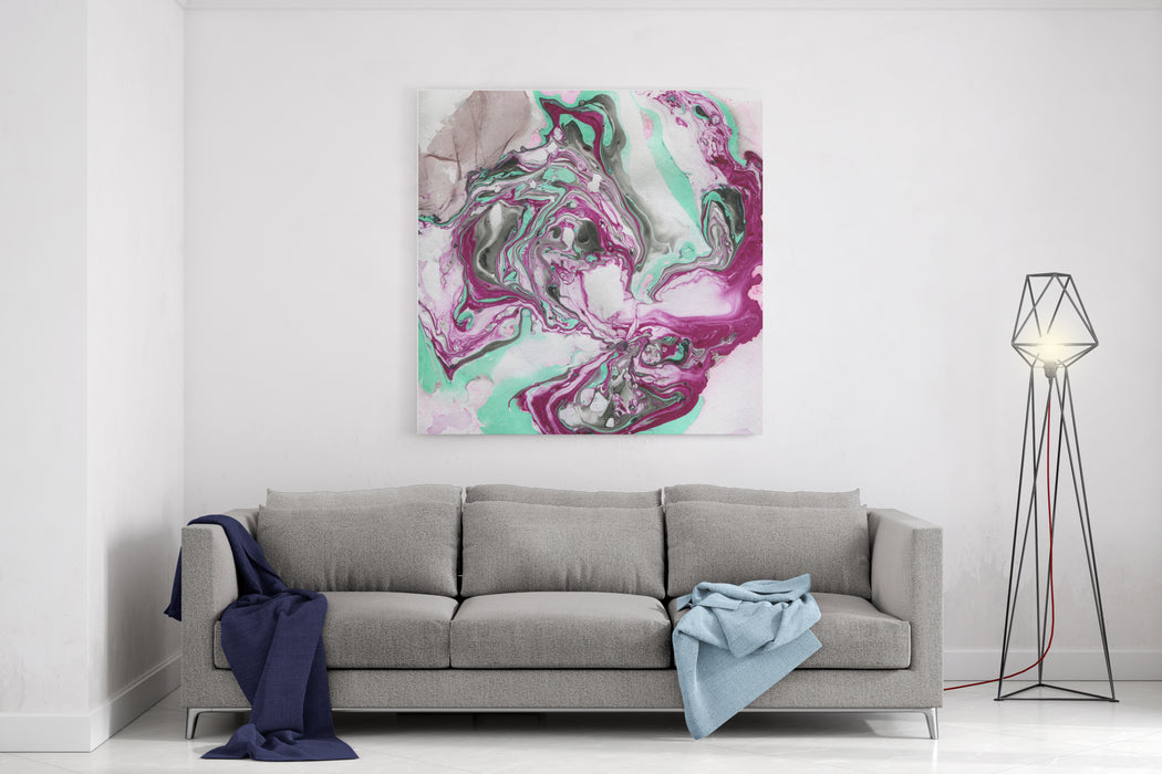 Abstract Art With Unusual Colors