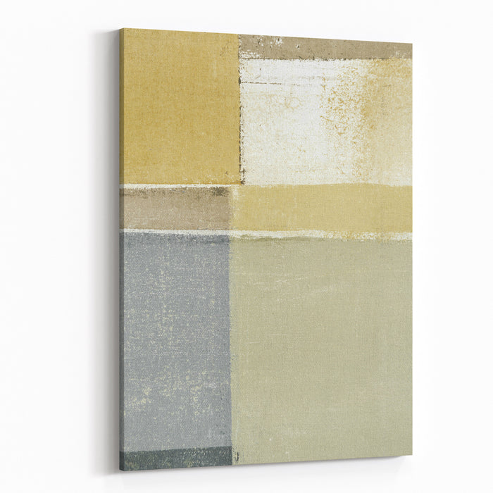 Neutral Abstract Art Painting Canvas Wall Art Print