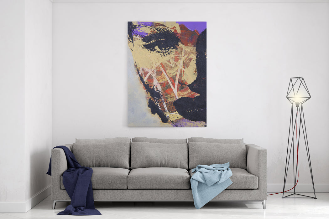 Original Oil Painting On Textured Cotton Canvas Canvas Wall Art Print