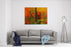 An Interesting Large Scale Abstract Painting On Canvas Canvas Wall Art Print