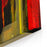 Very Interesting Abstract Painting On Glass In Verso Canvas Wall Art Print
