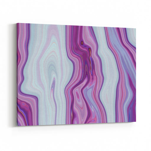 Colorful Paintings Of Marbling, Purple Marble Ink Pattern Texture Abstract Background Can Be Used For Background Or Wallpaper Canvas Wall Art Print