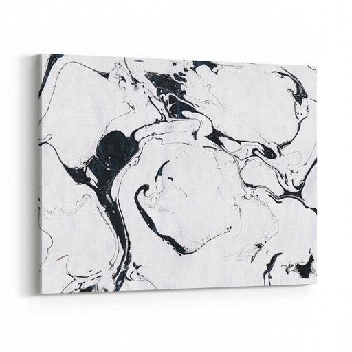 Black And White Marble Background Ink Marble Texture Abstract Painting Beautiful Abstract Backdrop Canvas Wall Art Print
