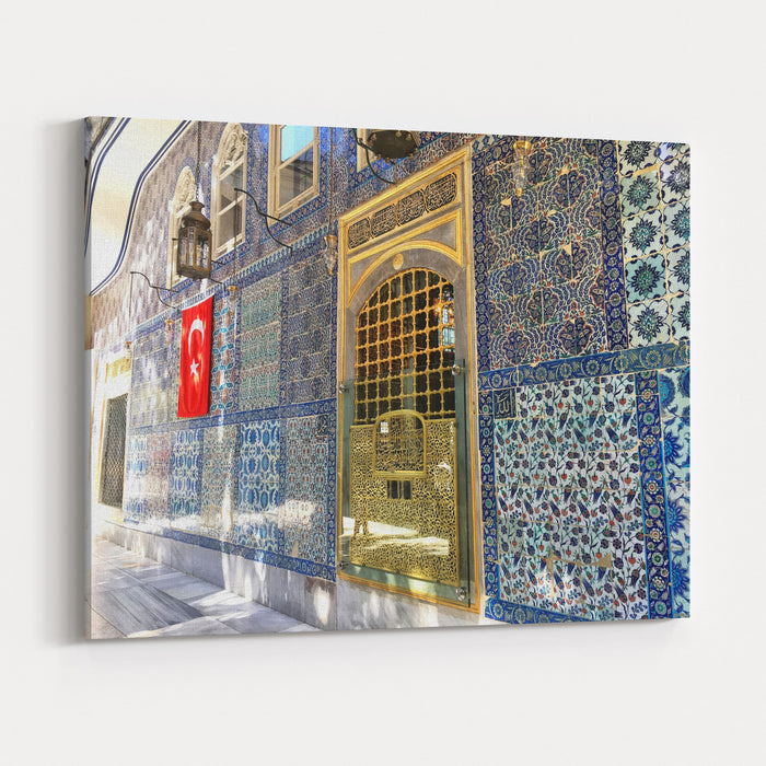 Eyup Sultan Turbesi, Istanbul, Turkey Canvas Wall Art Print