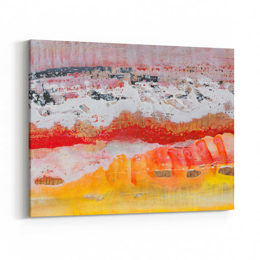 Abstract Painting Oil Picture Sea Shore High Resolution Photo Canvas Wall Art Print