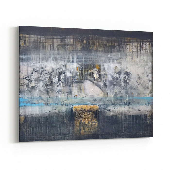 Contemporary Abstract Fine Art Workpainting Canvas Wall Art Print