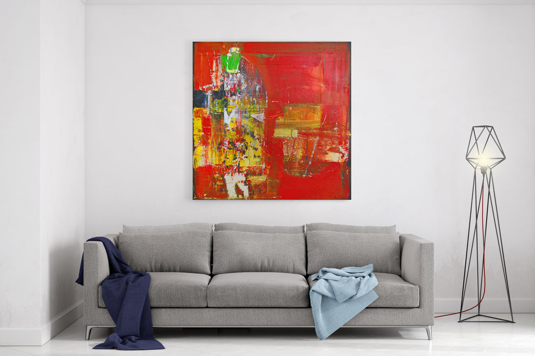 Fine Art Contemporary Work Painting Canvas Wall Art Print ...