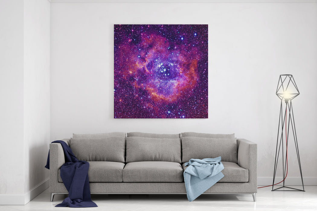 Rosetta Nebula Canvas Wall Art Print