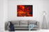 Image Of A Large Scale Abstract Painting On Canvas Canvas Wall Art Print