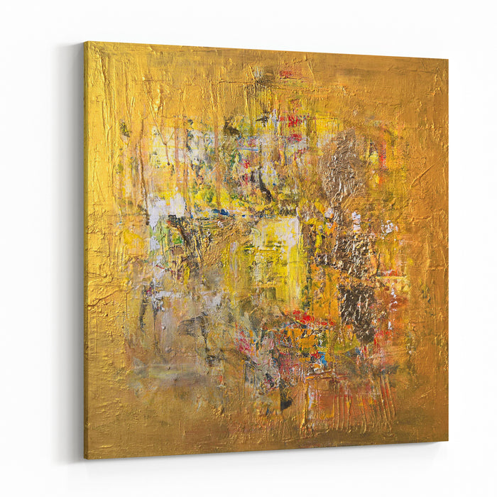 Golden Light Painting Canvas Wall Art Print