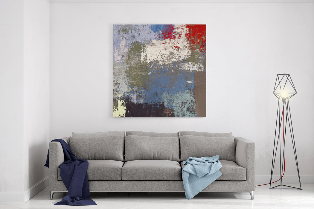 Oil Painting On Canvas Handmade Abstract Art Texture Colorful Texture Modern Artwork Strokes Of Fat Paint Brushstrokes Modern Art Contemporary Art Artistic Canvas Canvas Wall Art Print