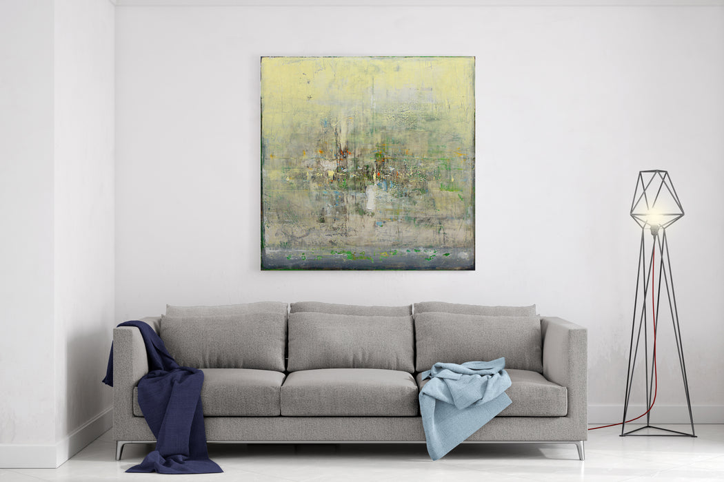 Fine Art Contemporary Work  Painting Canvas Wall Art Print