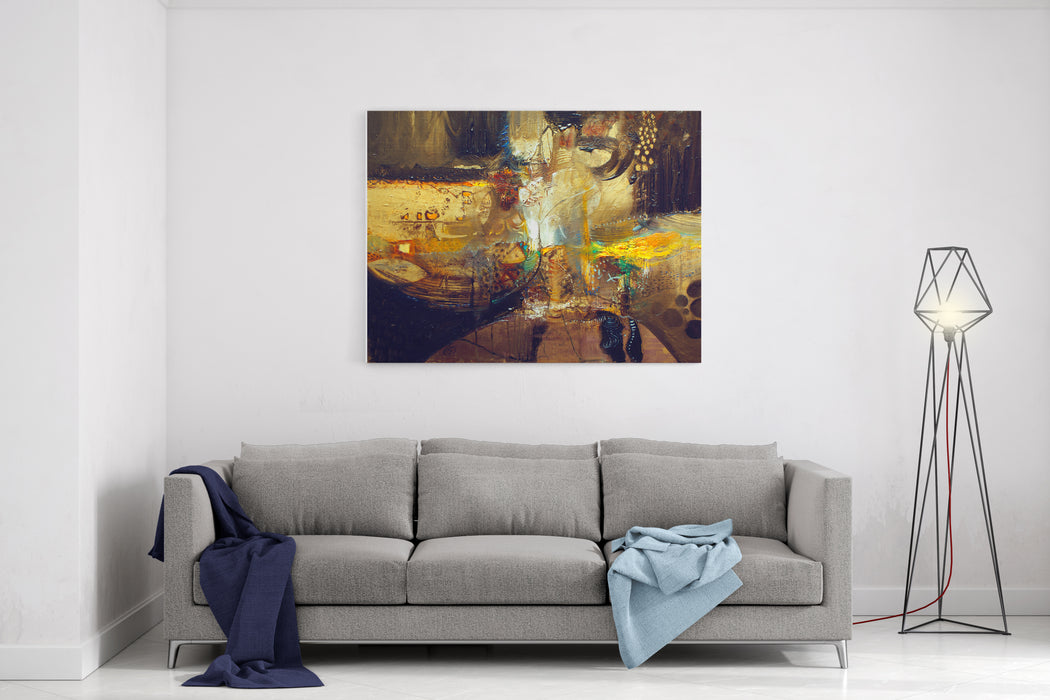 Fine Art Painting Background Canvas Wall Art Print
