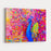 Original Oil Painting Of Colorful Peacock Modern Art Canvas Wall Art Print