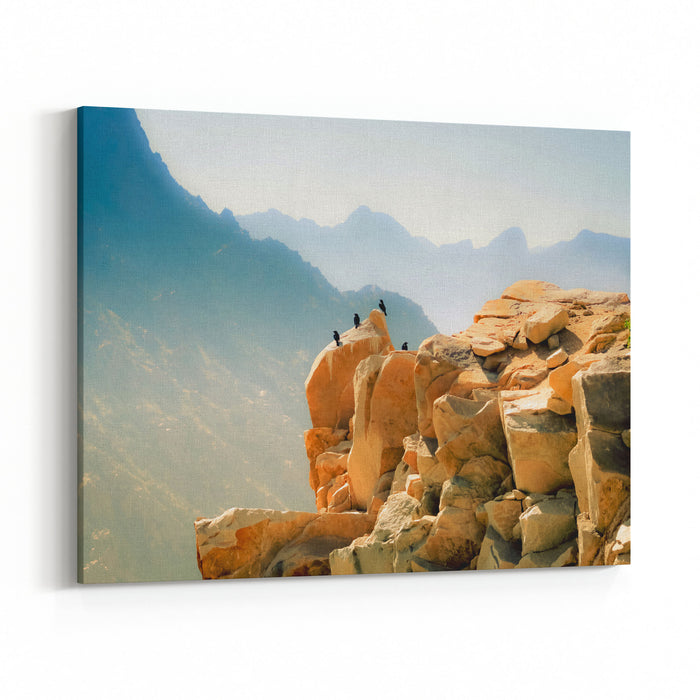 Al Hada Mountain Saudi Canvas Wall Art Print
