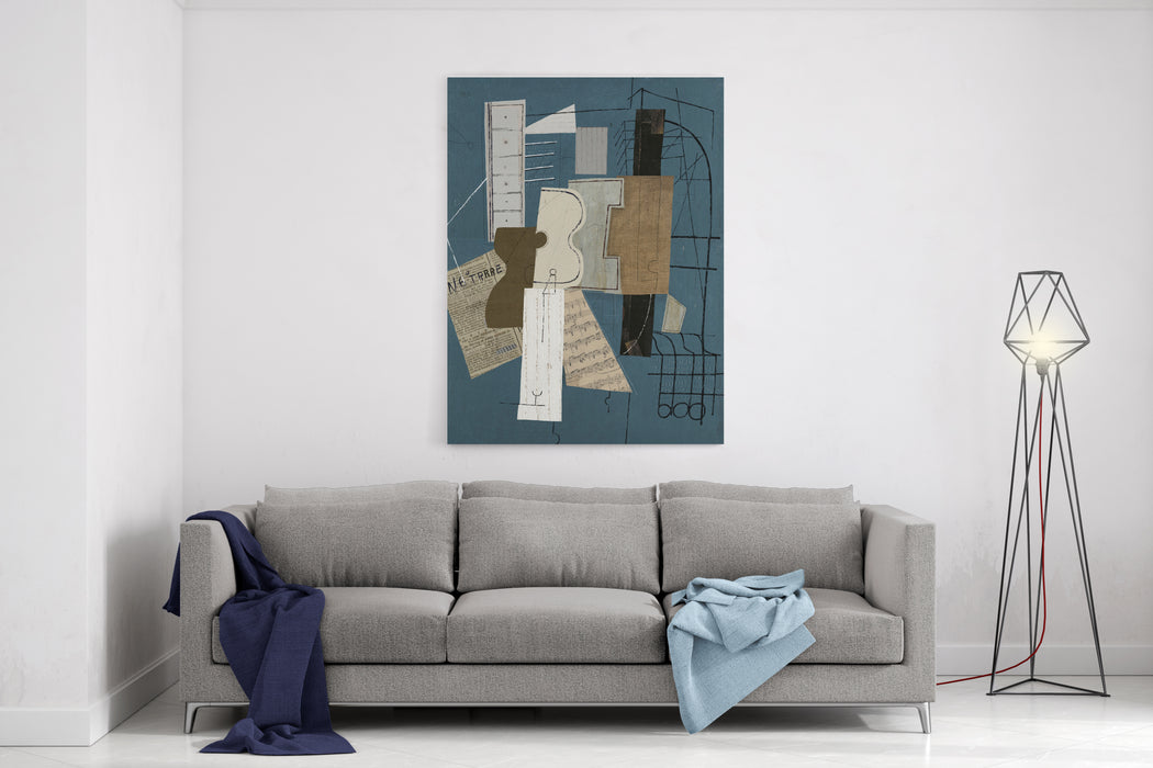 An Abstraction That Consists Of Many Templates Canvas Wall Art Print