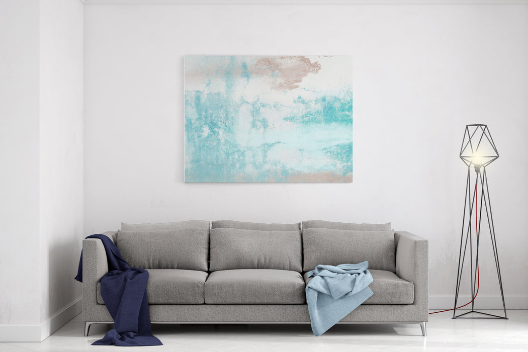 Wall Painting Handmade Abstract Art Texture Colorful Texture Modern Artwork Strokes Of Fat Paint Brushstrokes Modern Art Contemporary Art Artistic Wall Paint Canvas Wall Art Print