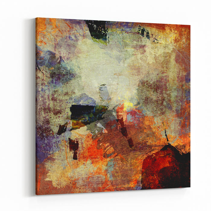 Abstract Background Painting Canvas Wall Art Print
